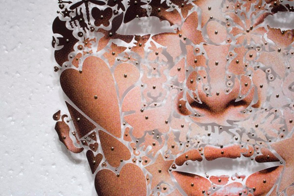Pinned Skin Collages by David Adey