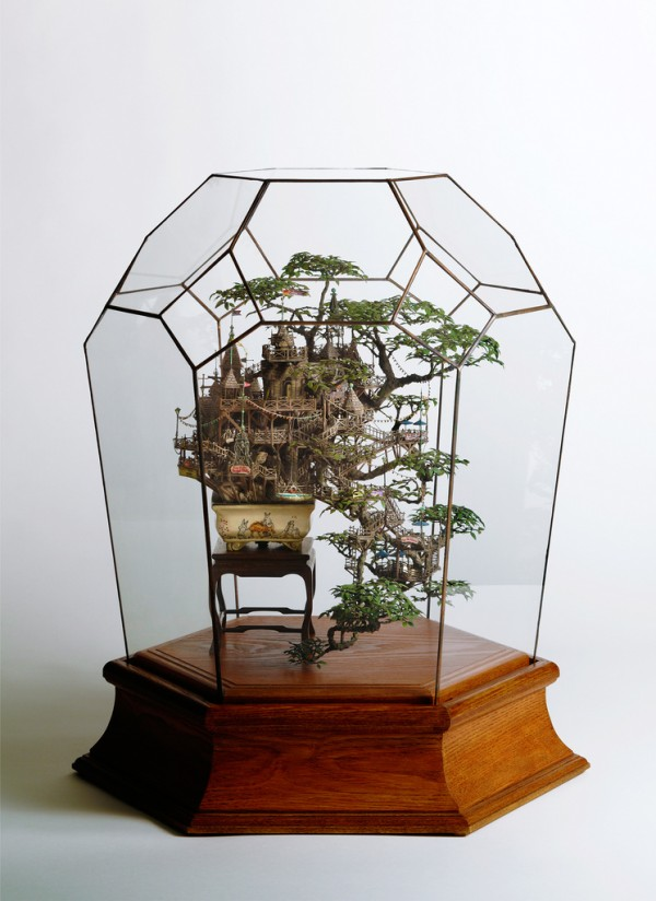 Bonsai Tree Houses by Takanori Aiba | Colossal