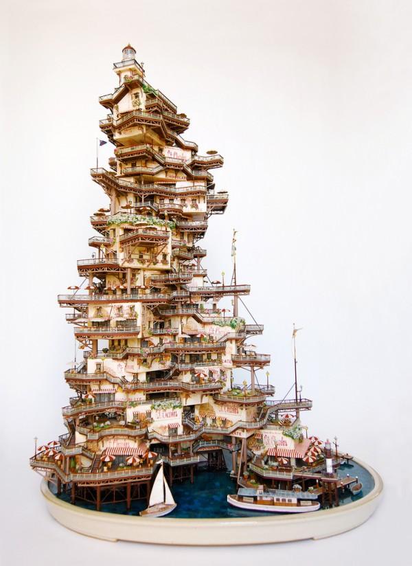 Bonsai Tree Houses By Takanori Aiba Colossal