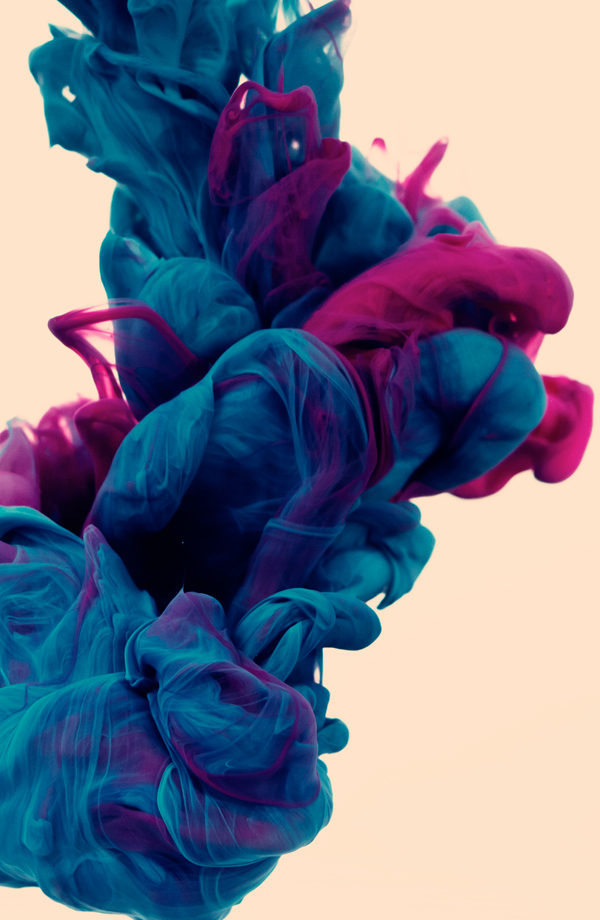 New Underwater Ink Photographs by Alberto Seveso water ink