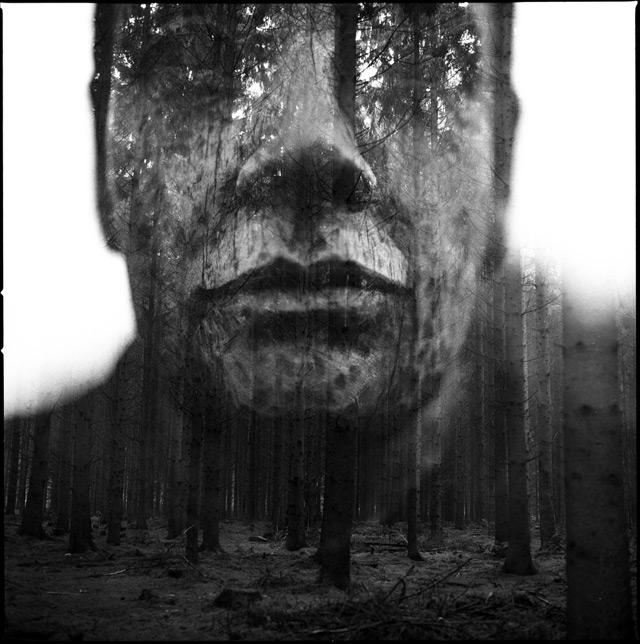 Analog double exposure photographs by florian imgrund
