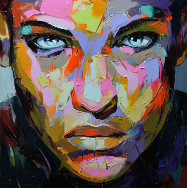 New Portraits By Franoise Nielly Colossal