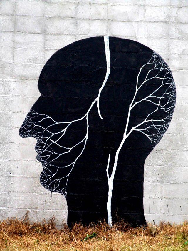 Tree People on the Streets of Uruguay