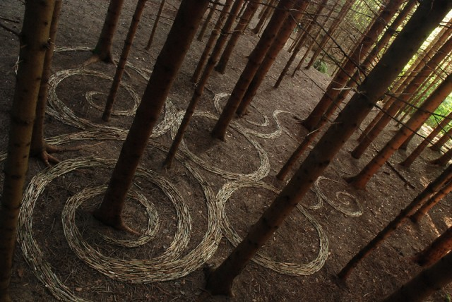 The Land Art of Sylvain Meyer land art installation art