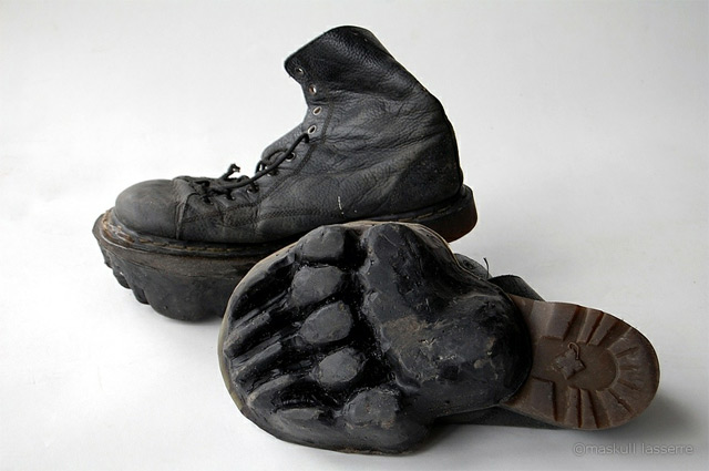 Animal Footprint Shoes By Maskull Lasserre Colossal