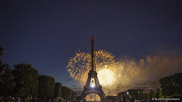 Paris In Motion stop motion Paris