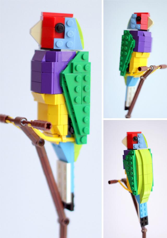 Tropical Lego Birds Colossal