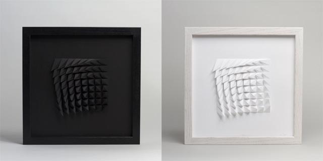 New Geometric Paper Art from Matthew Shlian paper geometric