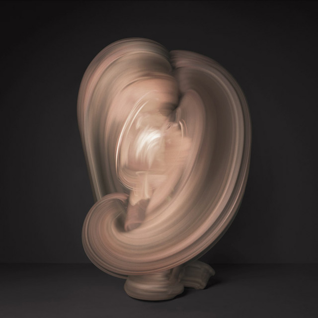 Time lapse Images of Nude Dancers Created with 10,000 Individual Photographs long exposure dance