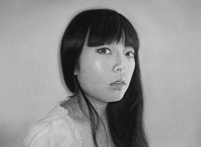 Photo Realistic Portrait Drawn by Kelvin Okafor portraits drawing black and white