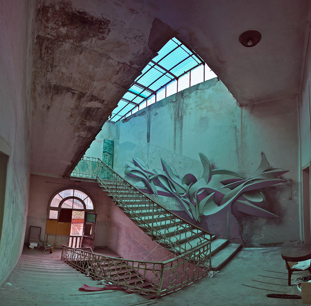 3D Graffiti and Paintings by Peeta painting murals graffiti 3d