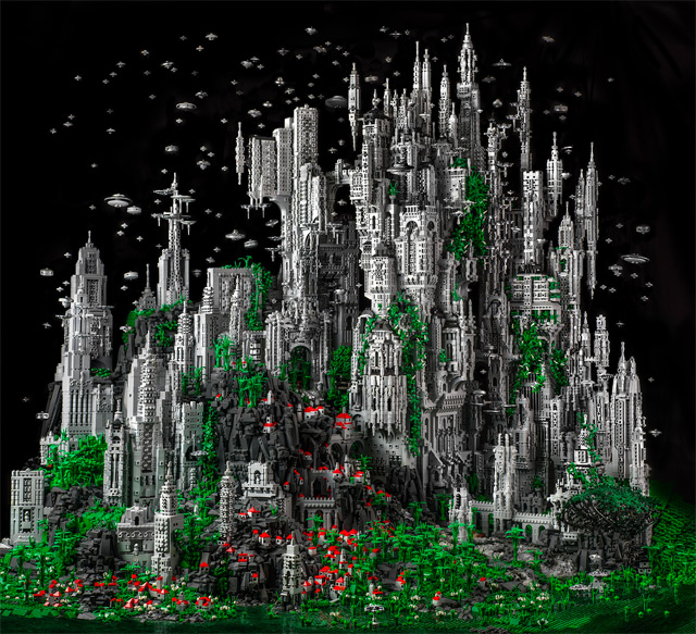 Contact 1: A 200,000 Piece Sci-Fi LEGO Masterwork by Mike Doyle