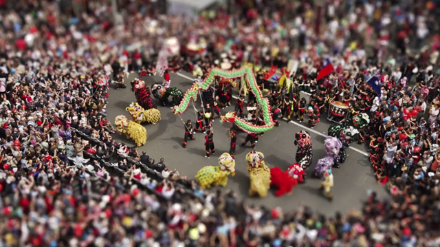 Miniature Melbourne: A Tilt-Shift Video of Melbourne Having Too Much Fun