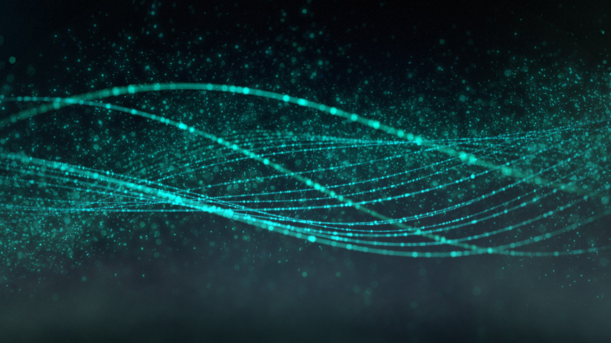 Oscillate is a Mesmerizing Digital Animation of Sine Waves by Daniel Sierra video art animation