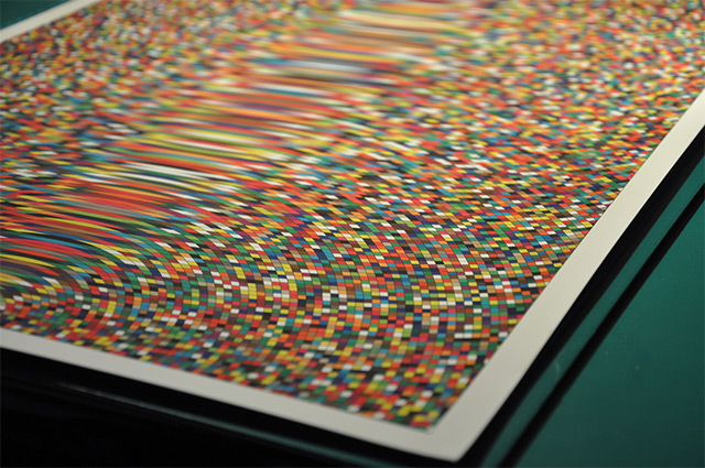 Optical Ripple: A New Geometric Print from Simon C. Page posters and prints geometric