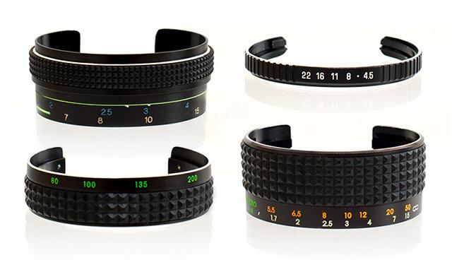 Vintage Camera Lens Bracelets by SDPNT jewelry cameras