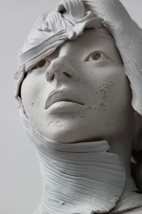 Delicately Sculpted Busts by Gosia