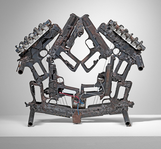 Disarm: A Mechanized Orchestra of Instruments Built from Decommissioned Weapons