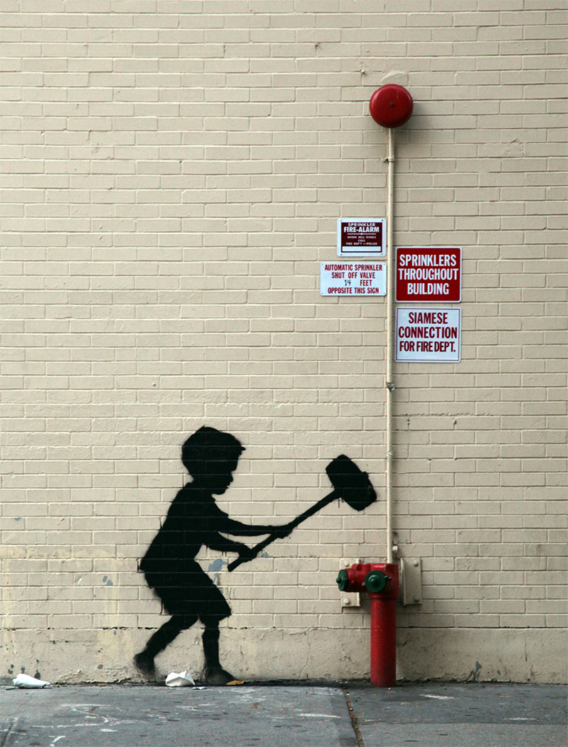 Banksy in New York, Day 20: Upper West Side | Colossal