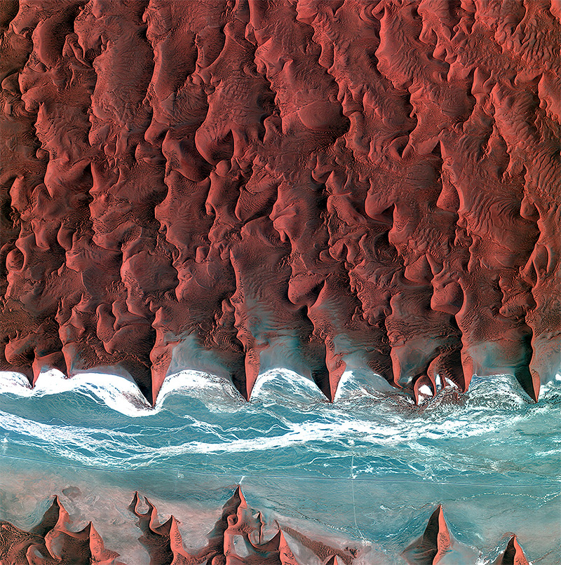 Observing the Earth: Incredible Satellite Photos of Earth from the European Space Agency | Colossal