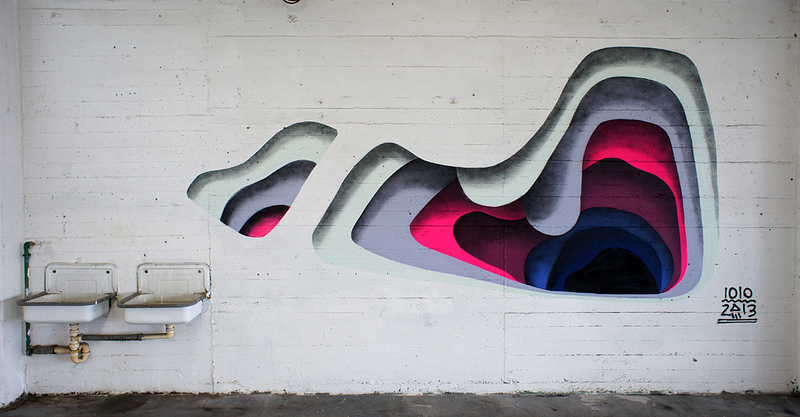 Surprising Layers of Color Revealed on Urban Walls  street art