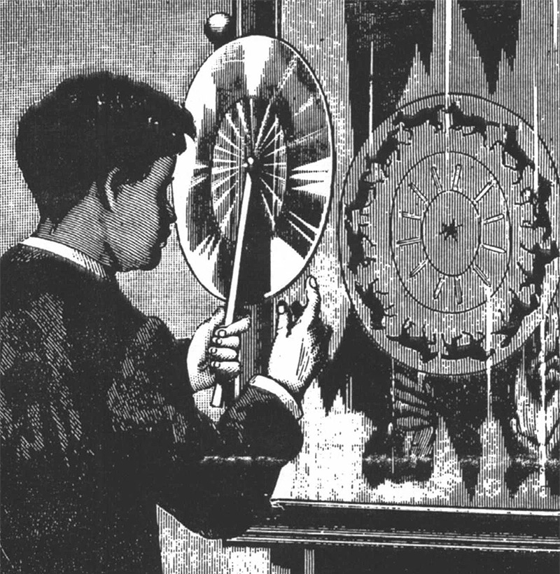 155 Years Before the First Animated Gif, Joseph Plateau Set Images in Motion with the Phenakistoscope history gifs animation