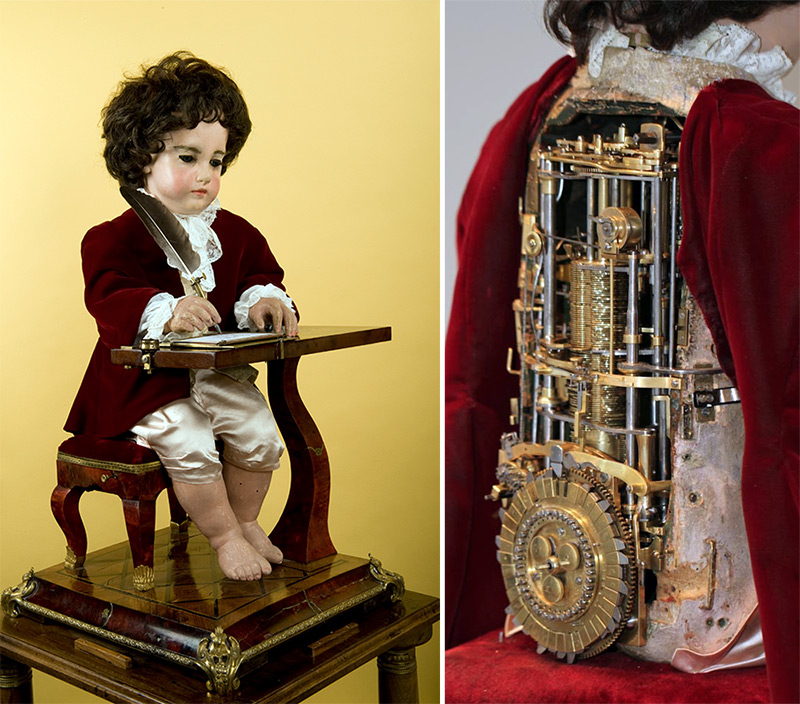 This Programmable 6,000-Part Drawing Boy Automata is Arguably the First Computer and It Was Built 240 Years Ago | Colossal