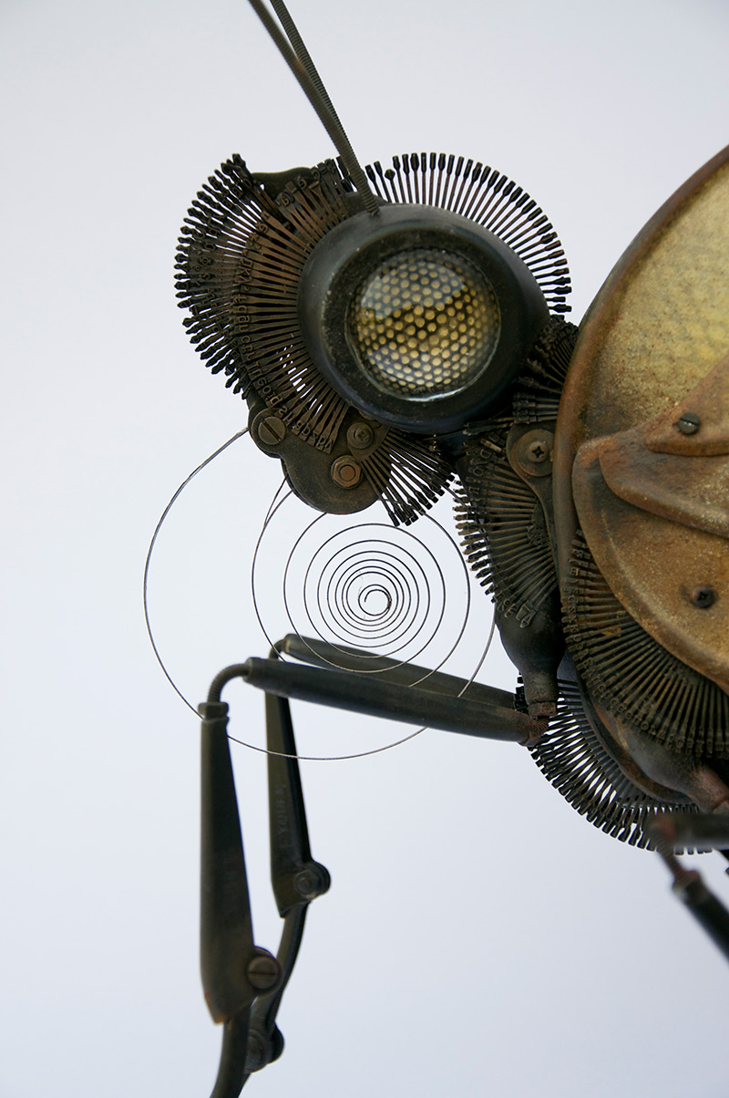 New Animal and Insect Assemblages Made from Repurposed Objects by Edouard Martinet | Colossal