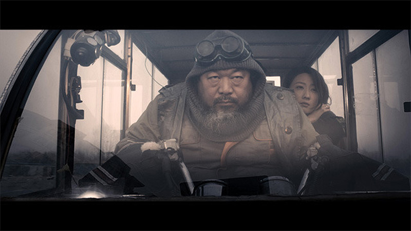 A Dystopian Sci Fi Movie Filmed Completely under the Radar in China ... Starring Ai Weiwei [Updated] science fiction movies China