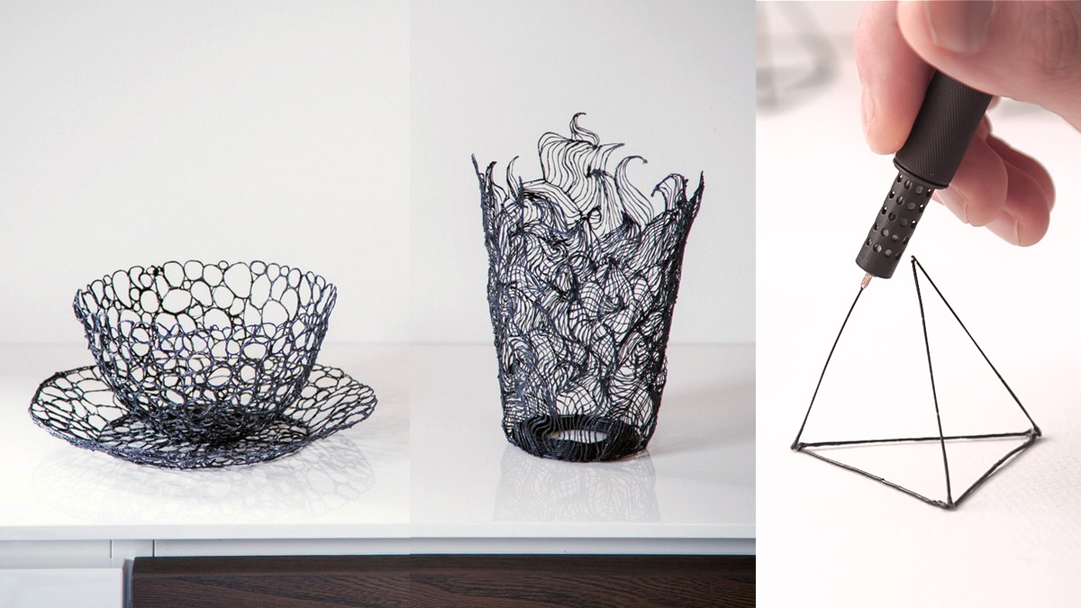 Lix the world s smallest 3d printing pen lets you draw in the air