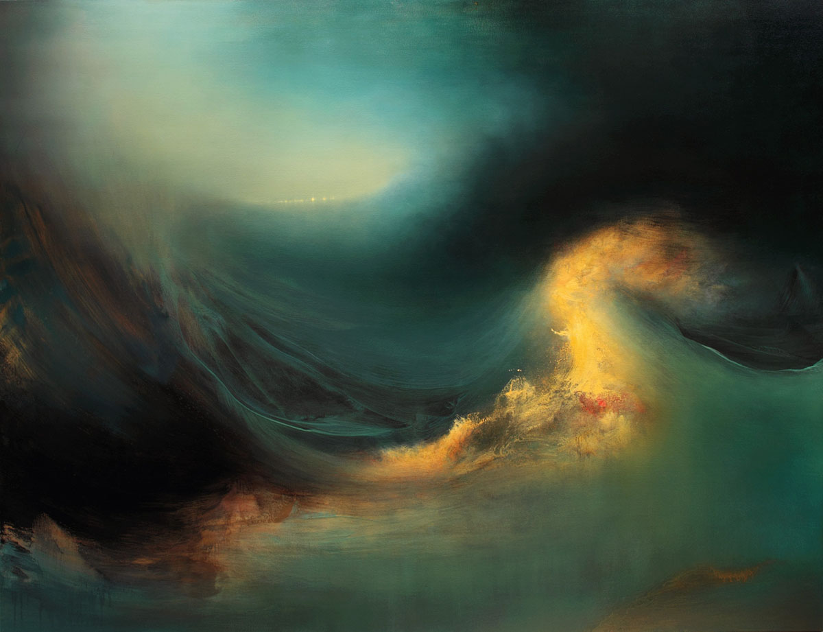 Internal Landscapes: Sweeping Abstract Oceans by Samantha Keely Smith | Colossal