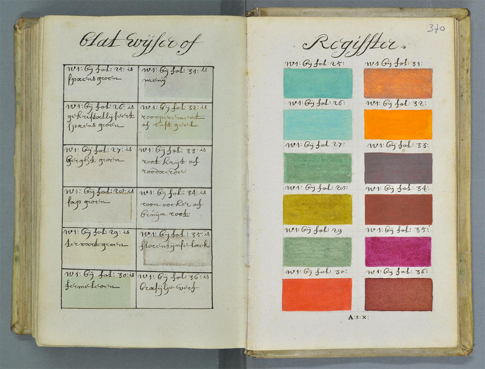 271 Years Before Pantone An Artist Mixed And Described Every Color