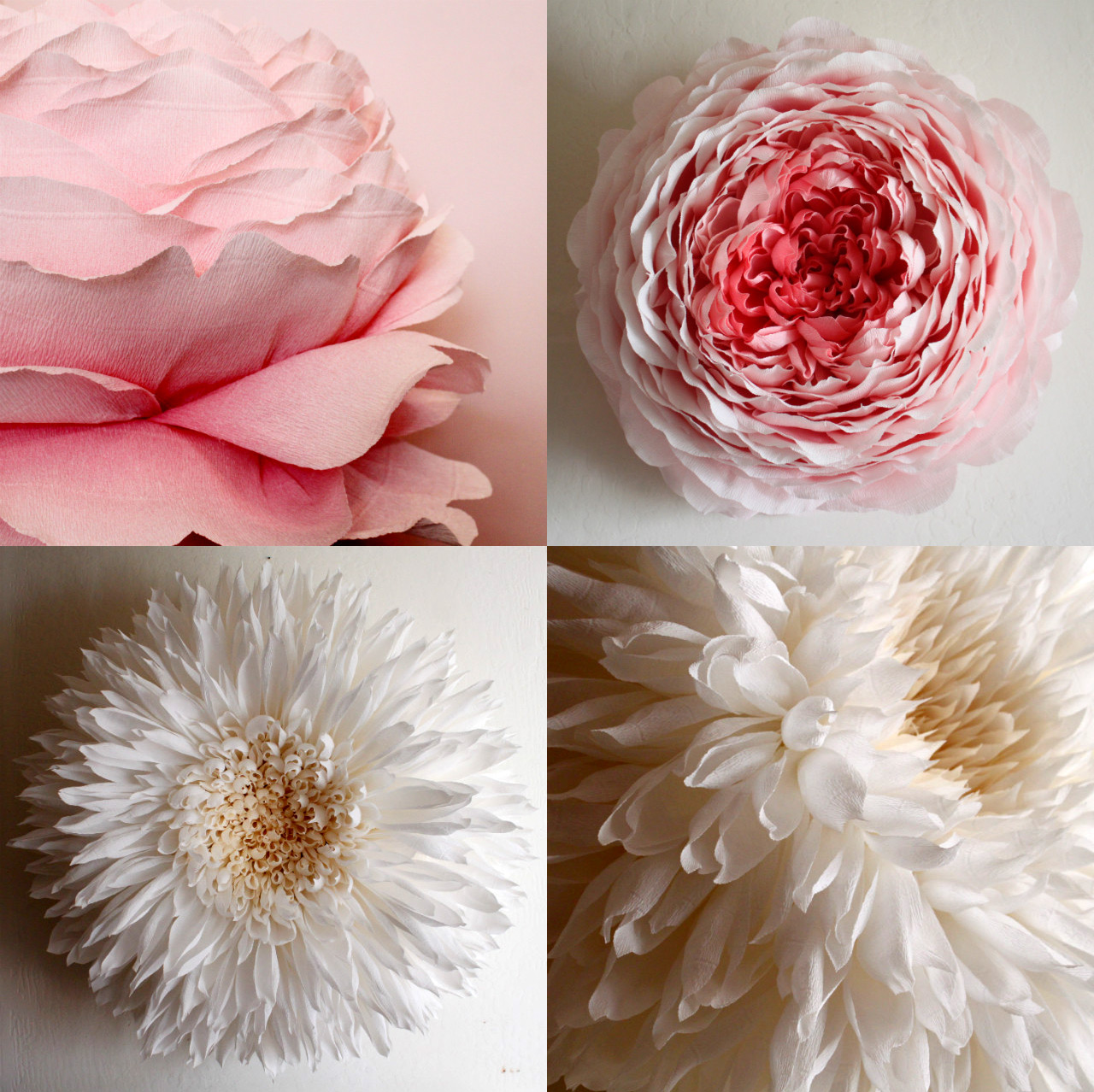 Giant Paper Flowers By Tiffanie Turner Colossal