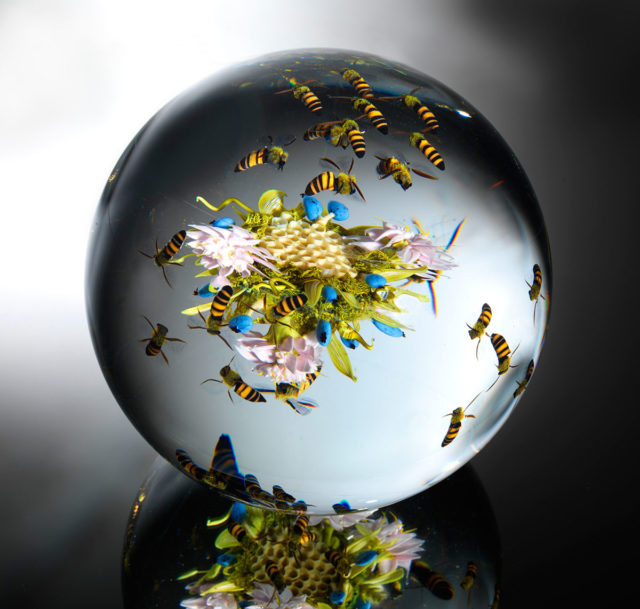 Beauty Beyond Nature: Stunning Artistic Glass Paperweights by Paul J. Stankard