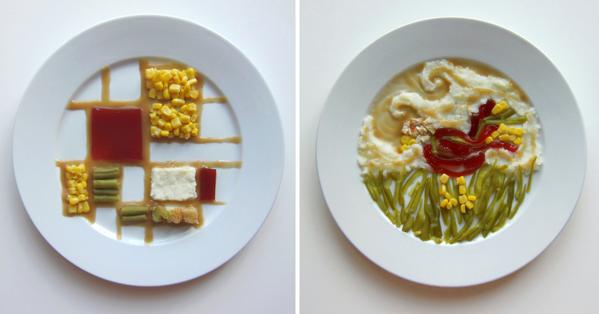 Thanksgiving Special: How 10 Famous Artists Would Plate Thanksgiving Dinner