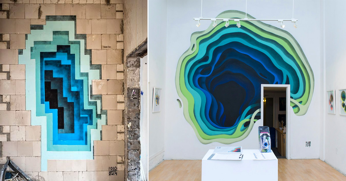 New Murals By 1010 Expose Hidden Portals Of Color In