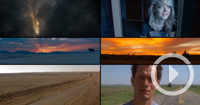 A Side-by-side Comparison of the First and Last Frames of 55 Movies