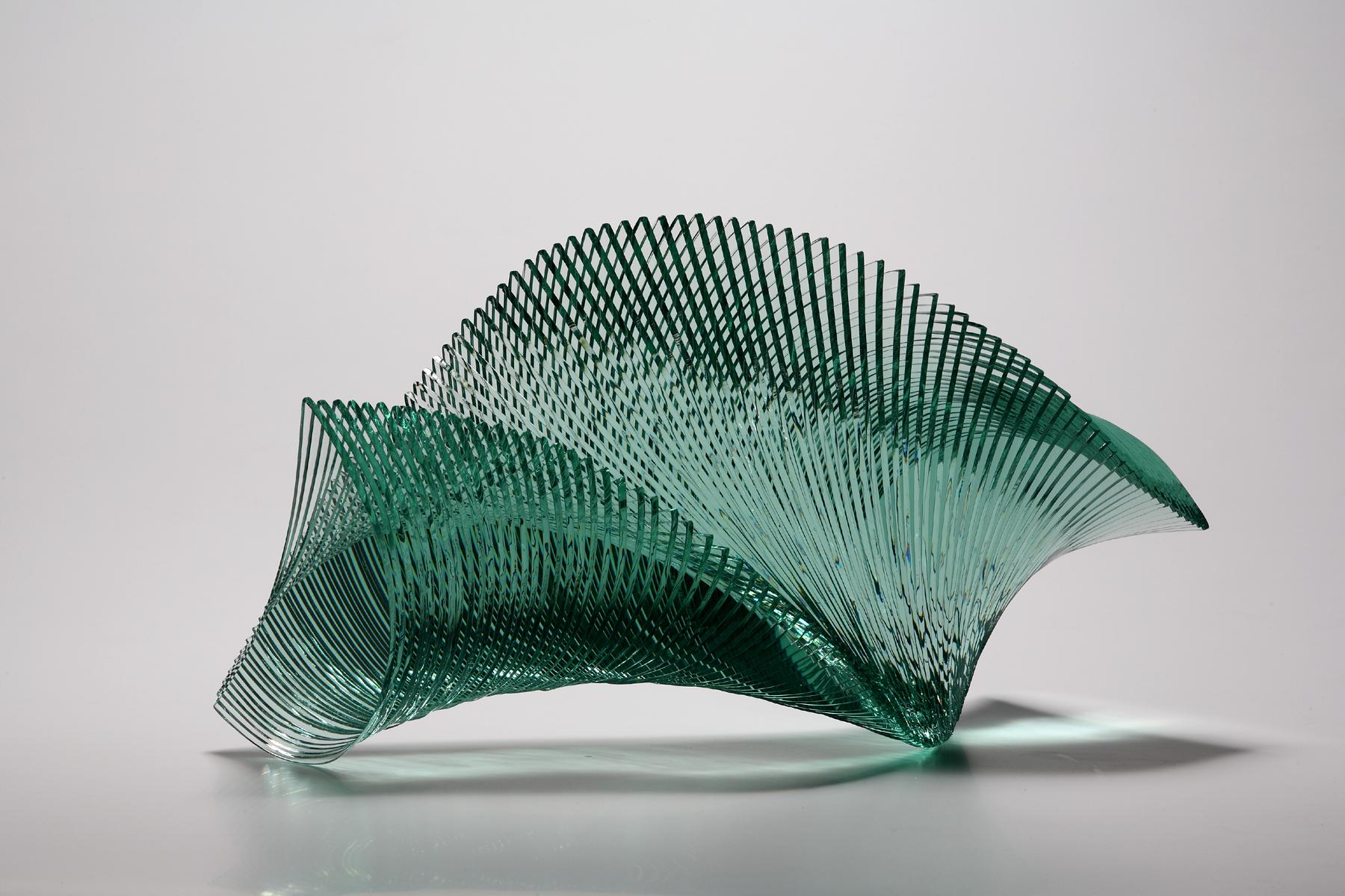 Artist Niyoko Ikuta Uses Layers Of Laminated Sheet Glass