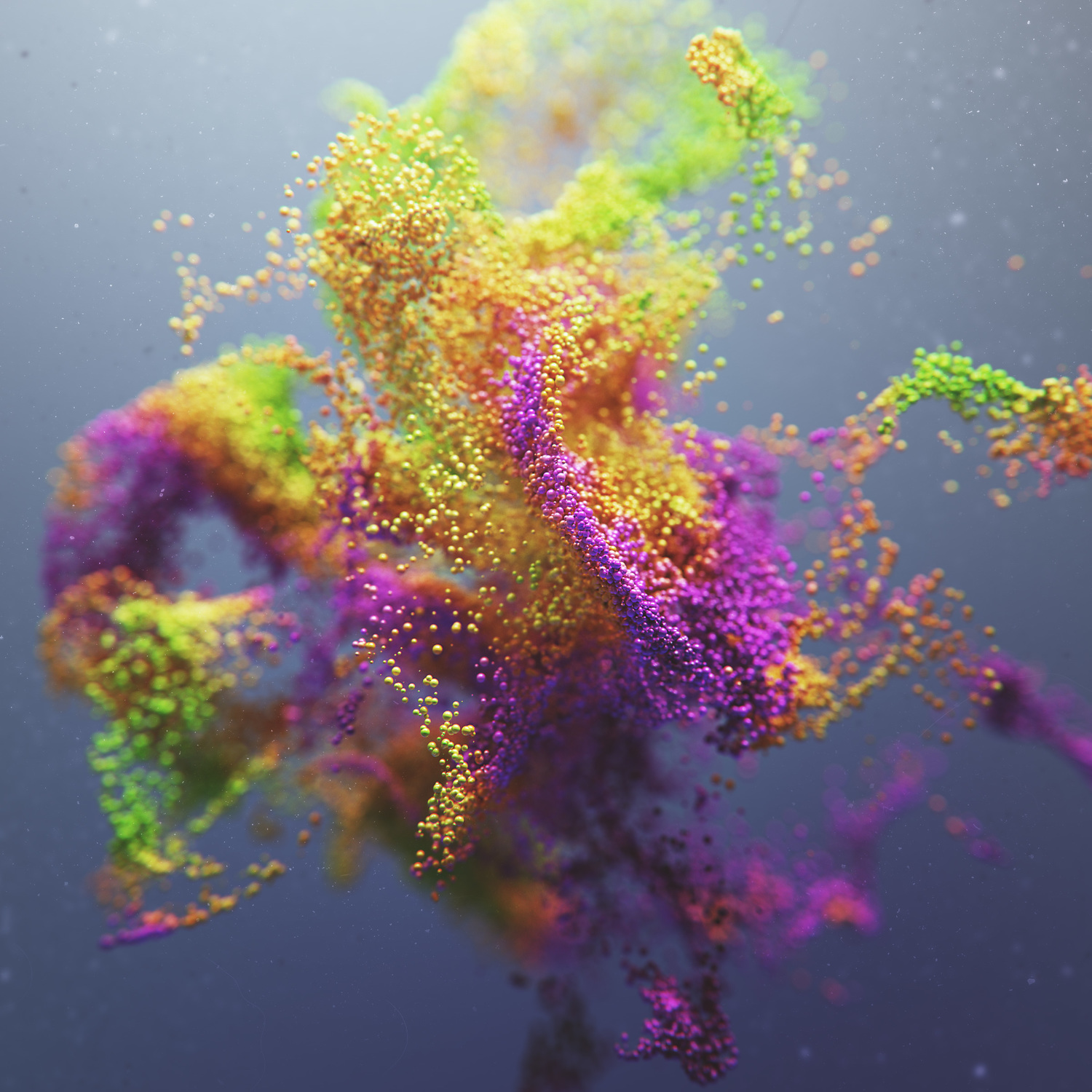 Raw Rendered Experimental D Artworks By Joey Camacho Colossal - 3d rendered experimental artworks