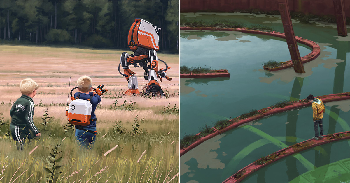 N Spiders Simon Stålenhag�...