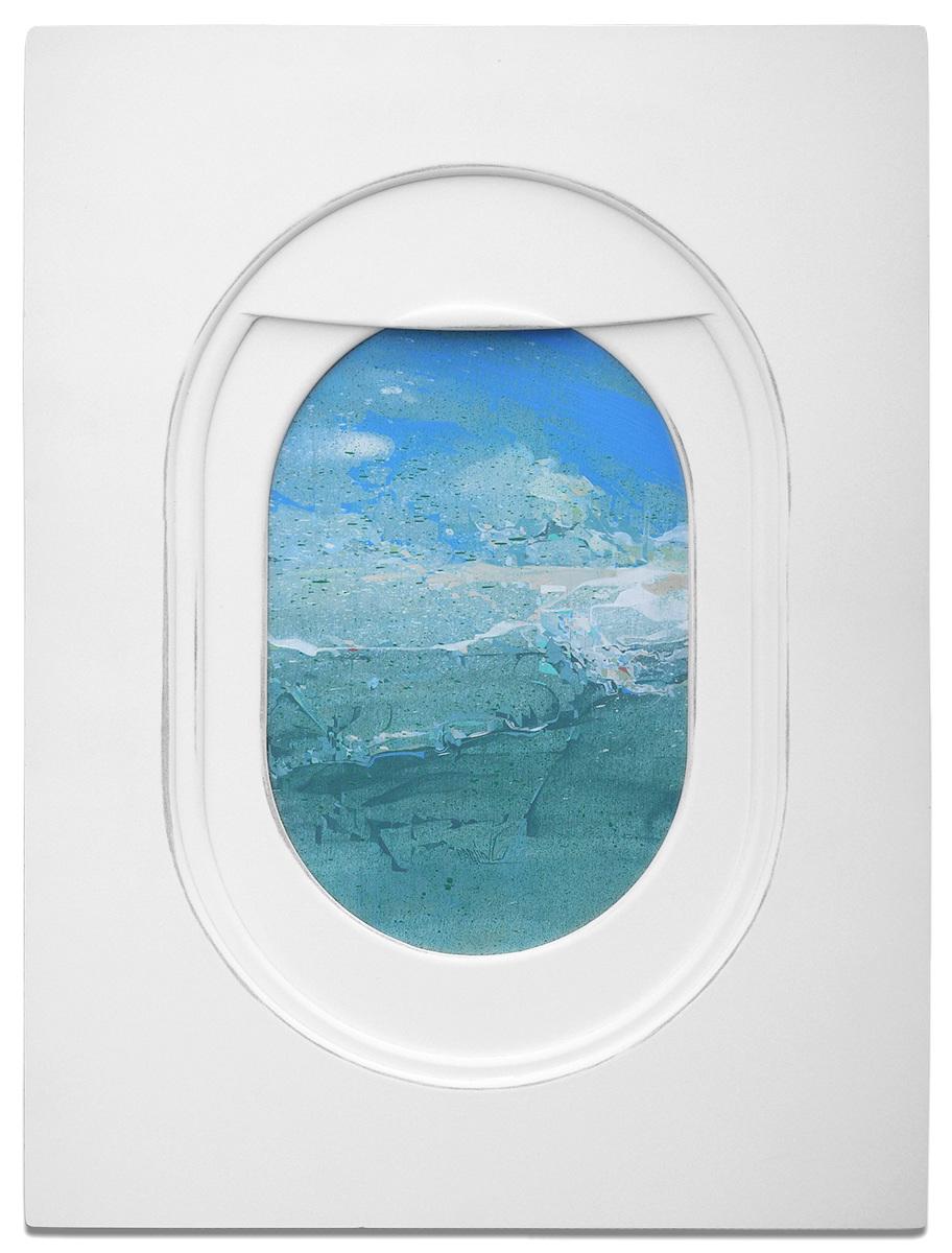 Jim Darling S Airplane Window Seat Paintings Frame