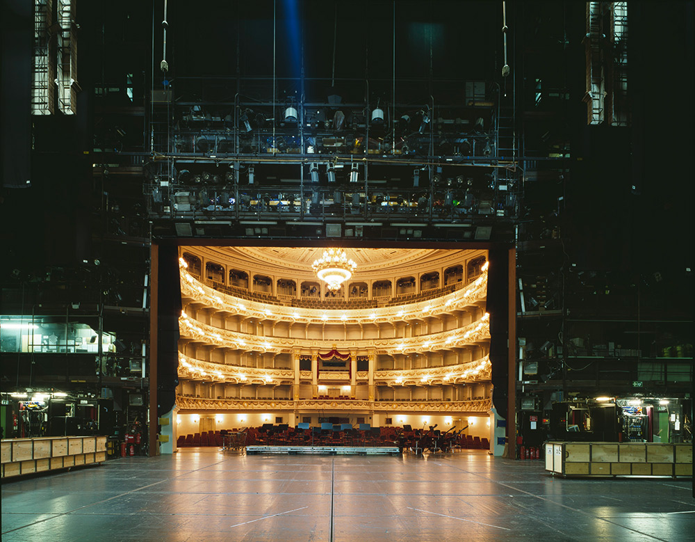 The Fourth Wall A Rare View Of Famous European Theater
