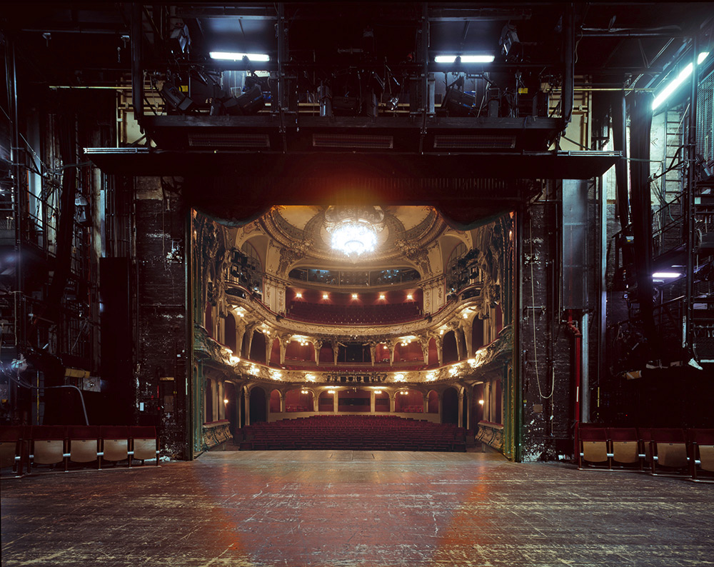 The Fourth Wall: A Rare View of Famous European Theater Auditoriums Photographed from the Stage | Colossal