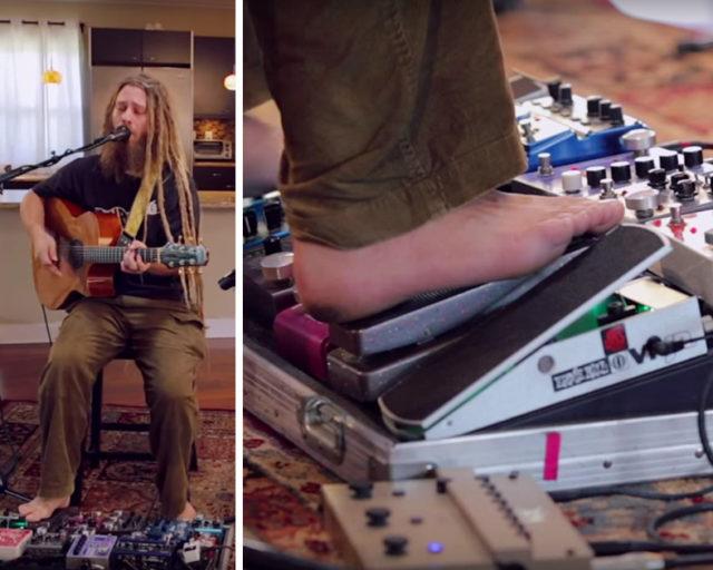 Musician Mike Love Samples Seemingly Random Syllables That Gradually Turn Into Lyrics