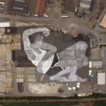 Artists Ella & Pitr Paint 21,000 Meter Rooftop Mural in Norway