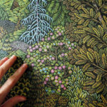Tugboat Printshop's Lush 'Overlook' Woodcut Print Rolls off the Press After 3 Years of Carving and Preparation