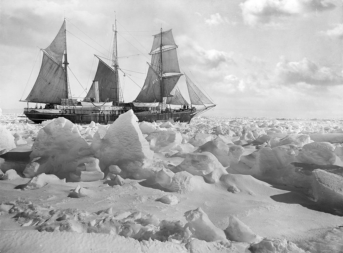 c8f0b88c9d Newly Restored Photos of Shackleton's Fateful Antarctic Voyage Offer ...