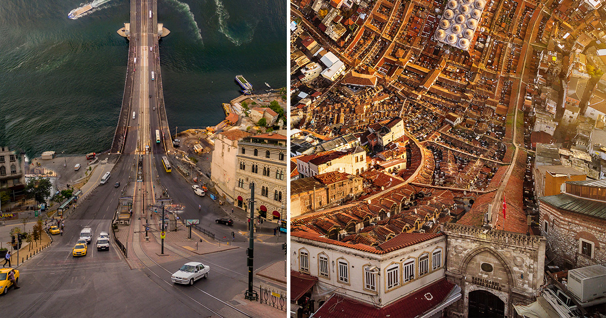 istanbul inception  warped turkish cityscapes by aydin b u00fcy u00fcktas