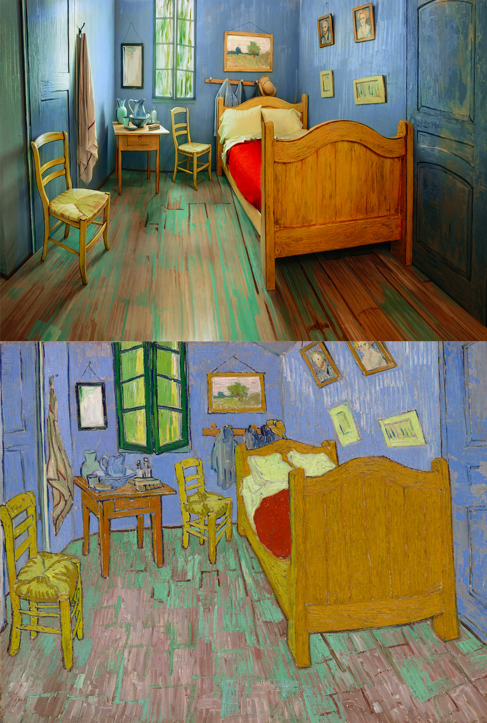 The Art Institute of Chicago Recreates Van Gogh's Famous Bedroom to be Rented on Airbnb | Colossal