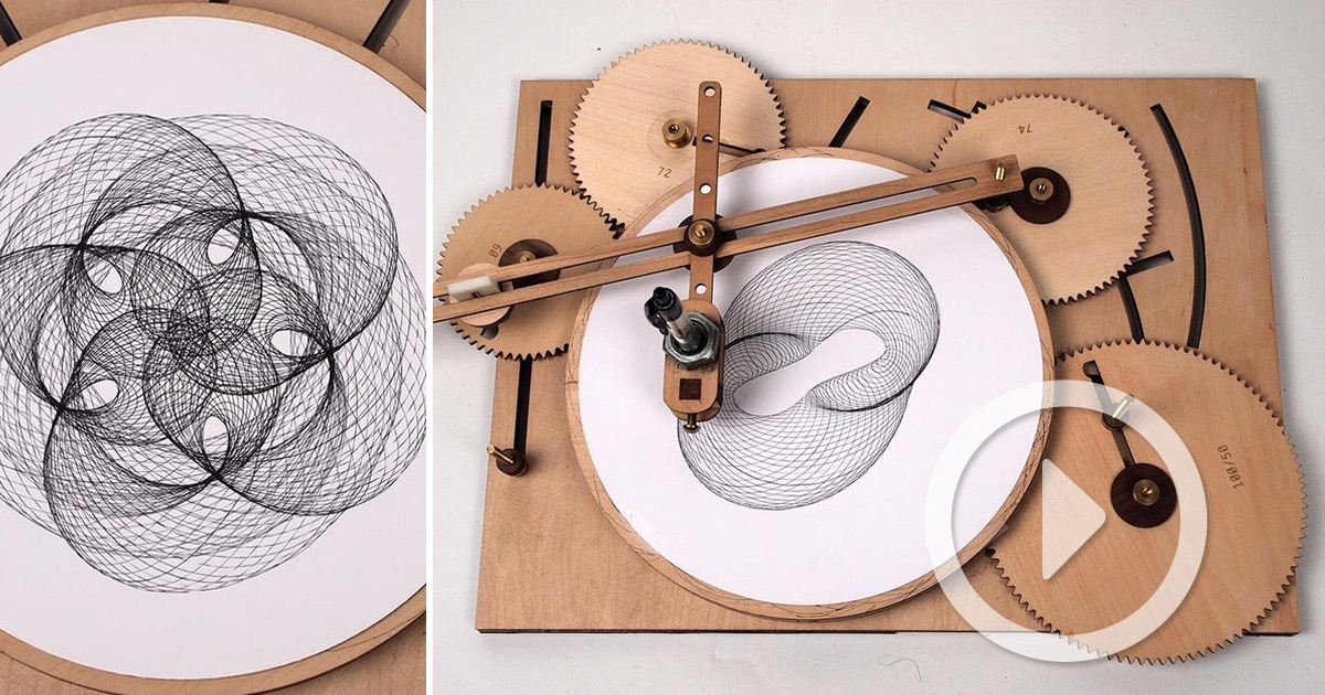 Crank Out Infinite Geometric Designs With The Wooden ...